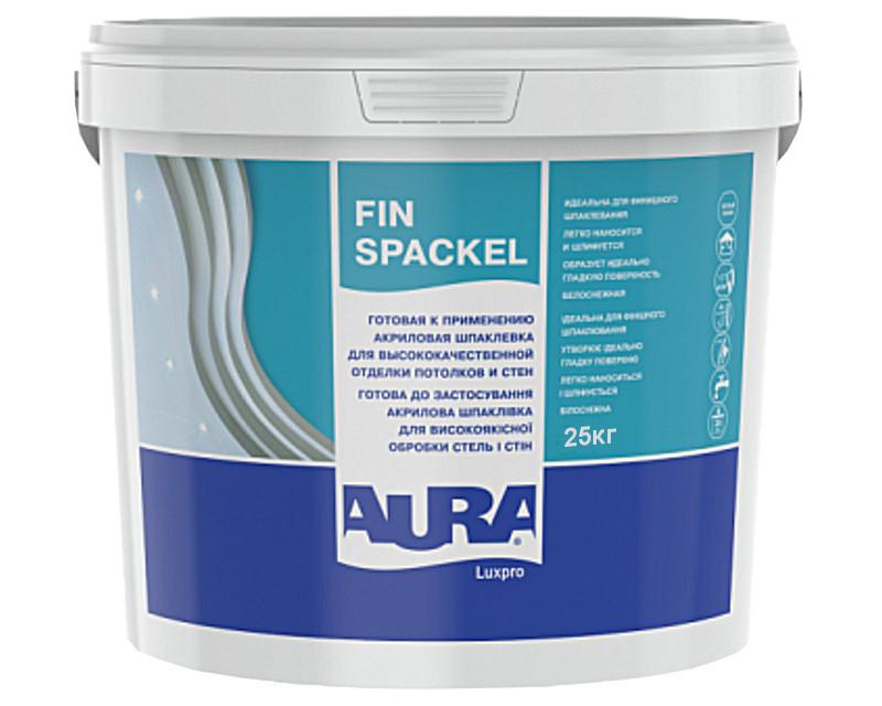 Шпатлевка акриловая AURA LUXPRO FIN SPACKEL финишная 25кг