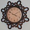 Интерьерные настенные часы фигурные (brown 51 см.)