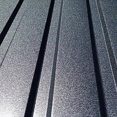 Профнастил для забору, колір: Графіт ПС-20, 0,45 мм, висота 1.5 метра ширина 1,16 м