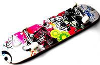 Скейтборд, Скейт Канадський з малюнком ACID до 85 кг, фото 1