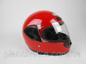 Шлем красный глянец Hel-Met 101 , фото 2
