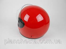 Шлем красный глянец Hel-Met 101 , фото 3