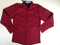 Нарядная подростковая рубашка для мальчика в расцветке