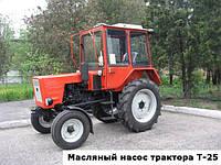 Масляный насос трактора Т-25 и его привод