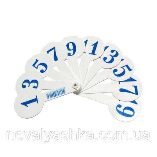 Веер Развивающий Обучающий Цифр Набор Веером Цифры с Цифрами, 005816