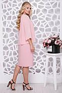 Женское нарядное платье Мелодия / цвет персик / размер 50-58, фото 2