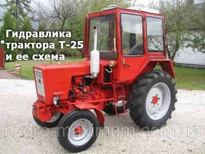 Гидравлика трактора Т-25 и ее схема