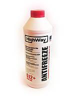 Антифриз концентрат красный G-12+ HihgWay,1,5 литра