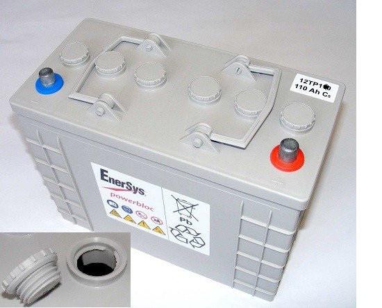 Тяговый аккумулятор глубокого разряда Powerbloc 12ТР125