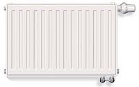 Радіатор Stelrad Novello 33 200х400 нижнє підключення (373Вт, 3м.кв.) Нідерланди