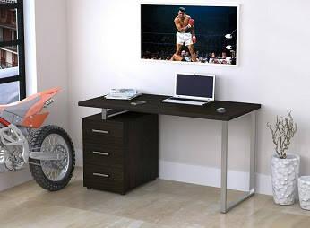 Письменный стол с тумбой  L-27 Max (1350*650) TM Loft design, фото 2