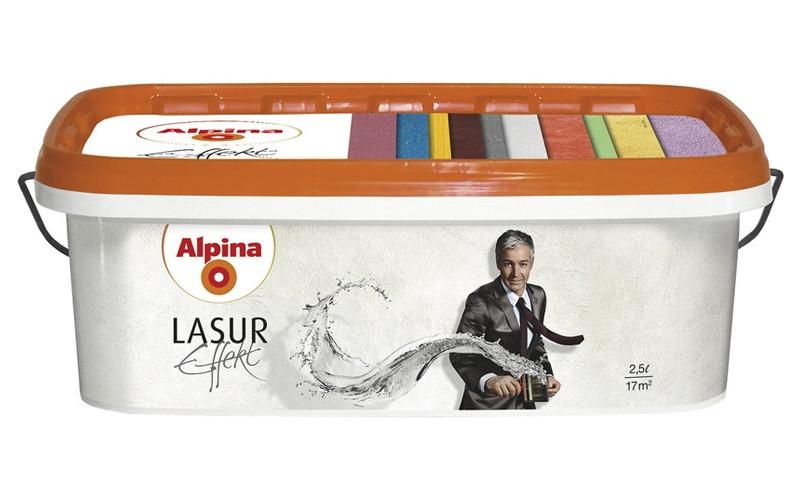 Alpina Lasur Effekt 2,5л silver