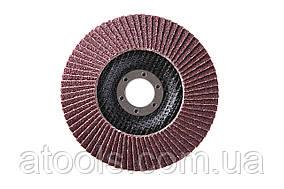 Круг лепестковый торцевой КЛТ VATZO T29 125x22 электрокорунд P36