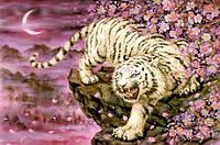 РКП-147 Схема для вишивки бісером  Бенгальский тигр.
