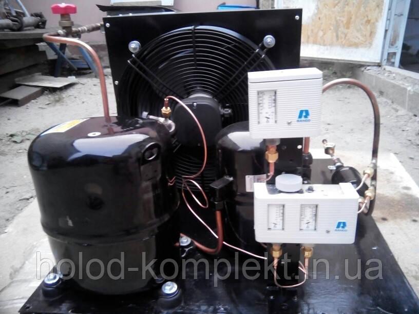 Среднетемпературный холодильный агрегат ,R404a/R507 , 6536 Вт. холод. (380 V)