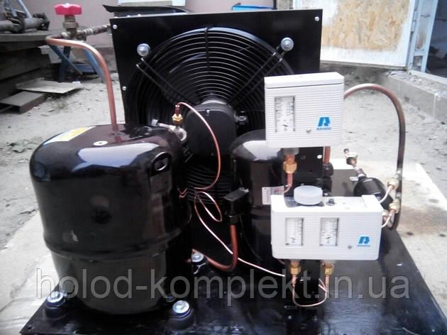 Среднетемпературный холодильный агрегат ,R404a/R507 , 6536 Вт. холод. (380 V), фото 2