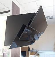 Вытяжка наклонная INTERLINE AIR BL A/60/GL/T черное стекло