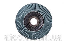 Круг лепестковый торцевой КЛТ VATZO T27 125x22 циркониевый P36