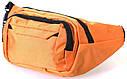 Мужская текстильная сумка Q003-4Summer оранжевая, фото 2