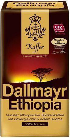 Кофе молотый Dallmayr Ethiopia 500г.