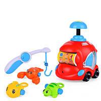 Плавательная игрушка SUNROZ Fishing Set рыболовный комплект машинка-распылитель Красный (SUN1046)