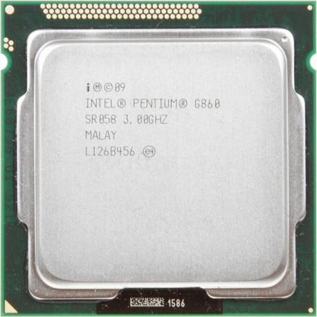 Процессор Intel Pentium G860 /2(2)/ 3GHz + термопаста 0,5г