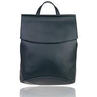 Рюкзак сумка с клапаном изумрудный, фото 1