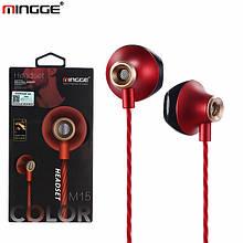 Наушники MINGGE M15 earpod