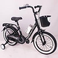 Велосипед детский 16 дюймов Casper Black