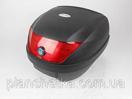 Кофр для мотоцикла (багажник) HF-880 черный мат