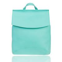 Рюкзак сумка с клапаном мятный, фото 1