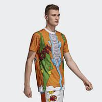 Мужская спортивная футболка Рибок и Адидас