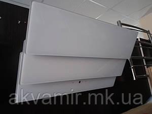 Вытяжка наклонная INTERLINE AIR WH A/60/GL/T белое стекло