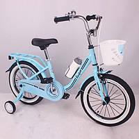 Велосипед детский 16 дюймов Casper Blue