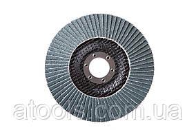 Круг лепестковый торцевой КЛТ VATZO T29 125x22 циркониевый Р100