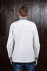 Сорочка - вишиванка для чоловіків з довгим рукавом Назар, фото 3