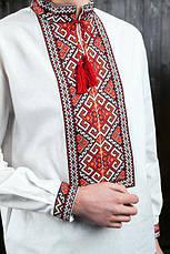 Сорочка с длинным рукавом вышитая Зорян, фото 3