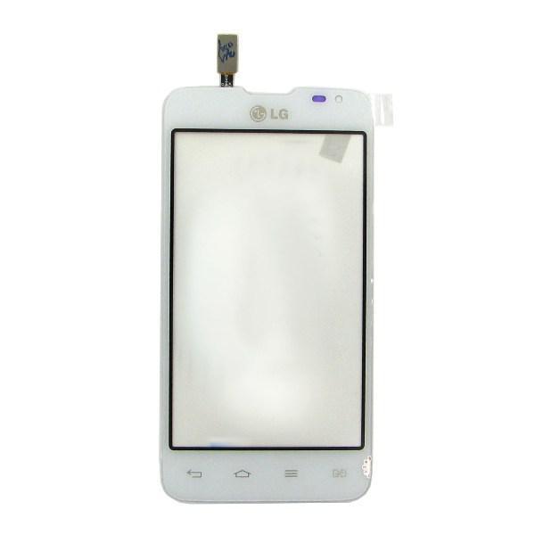 Сенсорний екран для смартфону Lg d285, тачскрін білий