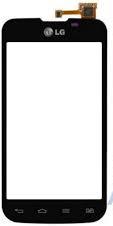 Сенсорний екран для смартфону LG E455 Optimus L5 Dual, тачскрін чорний