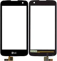 LG K4 k121 сенсорний екран, тачскрін чорний