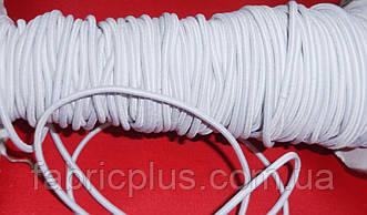 Резинка шляпная 2.5 мм белая
