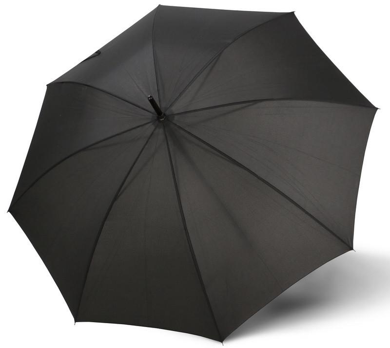 Мужской зонт-трость полуавтомат Doppler 740167-1, черный