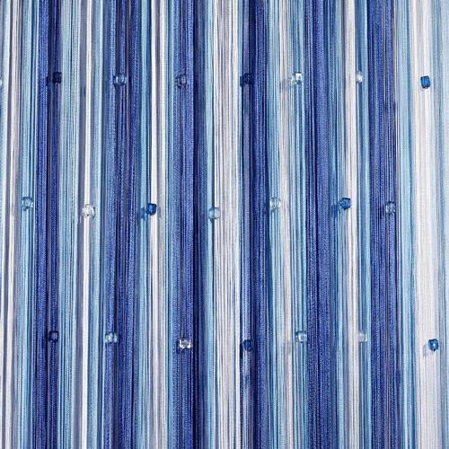 Шторы нити Радуга со стеклярусом №1+11+208