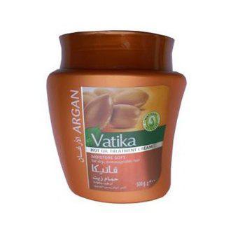 Маска для волос Dabur Vatika с марокканской арганой, 500 г