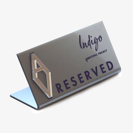 Изготовление таблички на стол, фото 2