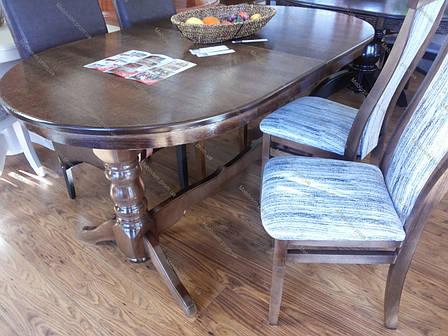 Стол на кухню Говерла Микс мебель, цвет  темный орех, фото 2