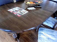 Стол на кухню Говерла Микс мебель, цвет  темный орех, фото 3