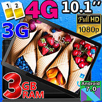 Мощный планшет - телефон с 3GB ОЗУ - MT104  - 4G IPS 10''  3/32