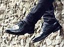 Туфли броги мужские черные кожаные (Onyx) от бренда Legessy размер 40, 41, 42, 43, 44, 45, фото 4