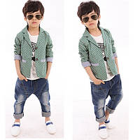 Стильный пиджак  на мальчика Д-144-О, фото 1